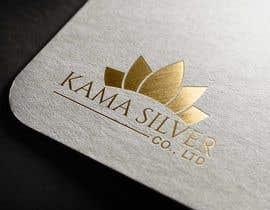 Nro 8 kilpailuun Kama silver logo design. I need a logo with lotus in it. For my website. I am a wholesaler of silver jewellery. Need for my website käyttäjältä Ghaziart