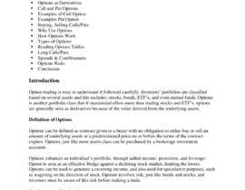 #5 for e-Book on Options Basics (Explantion of Calls, Puts etc) by udemepaul
