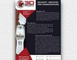 #143 for Flyer for online security service for condominiums by mdjahidul306