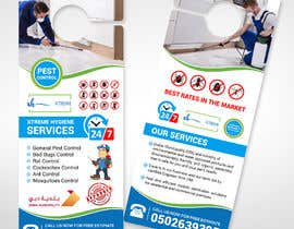 #90 for Flyer for pest control company by moslehu13