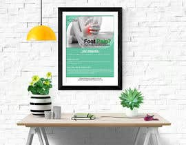 #65 for Podiatry window posters by AbmAlfee08