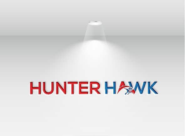Kilpailutyö #                                        324                                      kilpailussa                                         Logo for 'HUNTER HAWK'