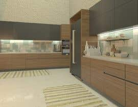 #6 for Neoclassical open kitchen by Mariamkhalil99