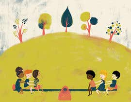 #103 for Art illustration for children - convey a message about equality of races. by vidadesign
