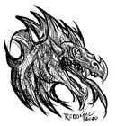Graphic Design Конкурсная работа №89 для Dragon Art Contest2 - original art only - Vector, painted, raster