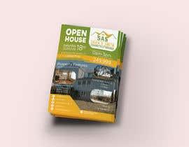 Ahmad2409 tarafından Open House Real Estate Flyer için no 63