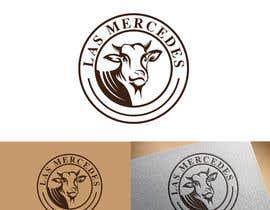 #201 untuk Need a custom logo for a cattle farm oleh webmobileappco