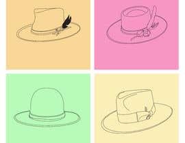 Nro 6 kilpailuun Simple Hat Sketches käyttäjältä ramjeevacartoons