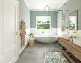 Nro 96 kilpailuun Design a bathroom! käyttäjältä juliadesign9