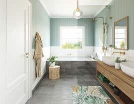 Nro 111 kilpailuun Design a bathroom! käyttäjältä juliadesign9