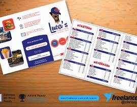 #25 cho Design me an editable Sports Pub Food Menu bởi chrisquim