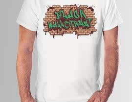 "#29 cho T-shirt ""Black Wallstreet"" bởi teehut777"