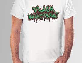 "#30 cho T-shirt ""Black Wallstreet"" bởi teehut777"