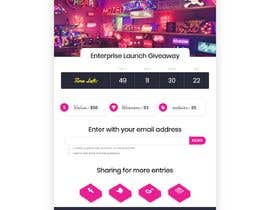 #27 cho Html responsive template for giveaways bởi Howaida95
