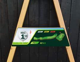 #5 cho golf hole info board design bởi ciprilisticus