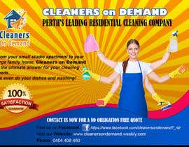 #11 for Design a Flyer for Cleaners on Demand by tiagogoncalves96