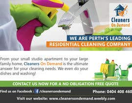 #5 for Design a Flyer for Cleaners on Demand by mufzilkp