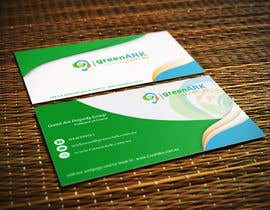 #49 for Create business cards for GreenArk.com.au by mirzarajwan