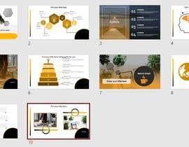 #35 untuk Design a Custom PowerPoint Template oleh mrunaldhas