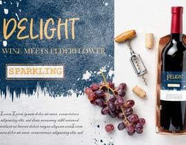 Nro 212 kilpailuun label for a wine bottle käyttäjältä suranjit3