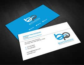 #303 pentru Design some Business Cards for Real Estate Company de către logosuit