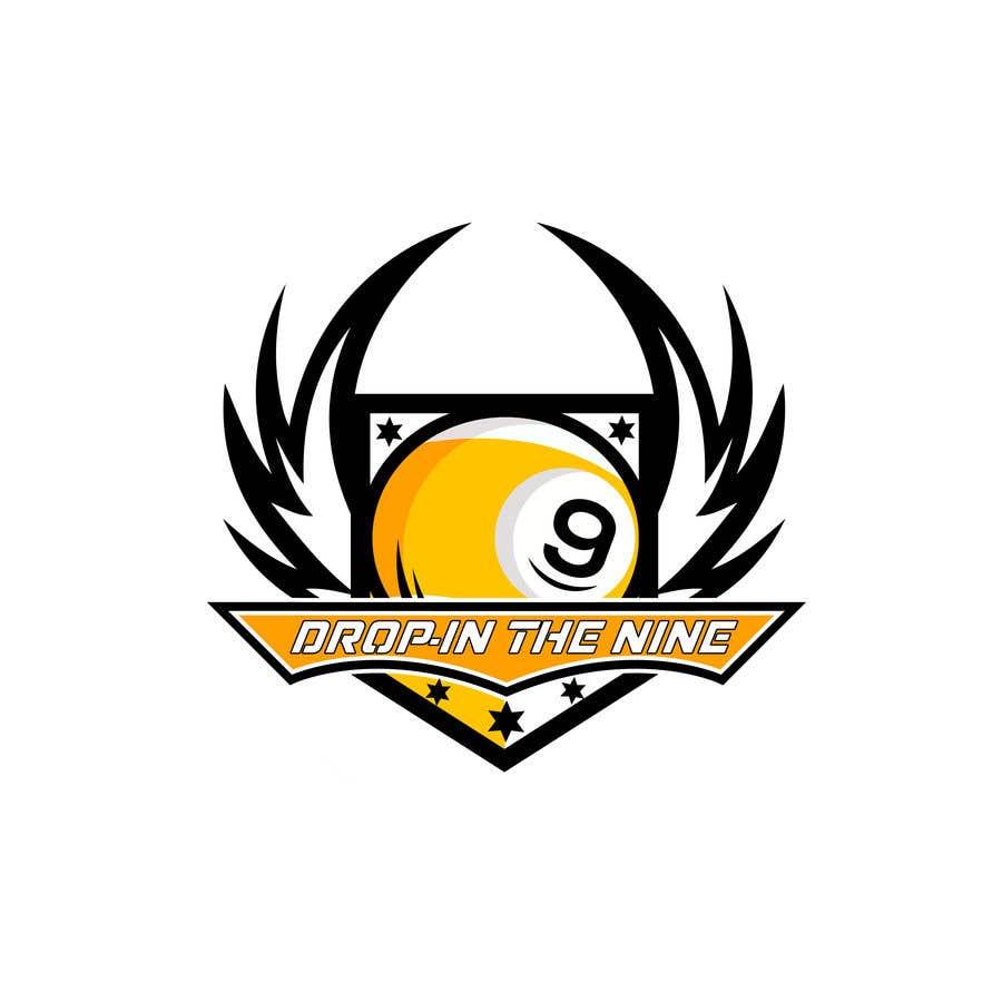 Kilpailutyö #                                        47                                      kilpailussa                                         Create a 9 ball billiard team logo.