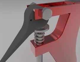 nº 9 pour Tabel Top Rivet Press - Seeking Mechanical Engineers & KeyShot Designers par rajibkuet28