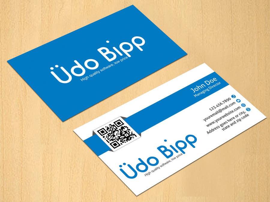 Penyertaan Peraduan #68 untuk Design some Business Cards for Udo Bipp