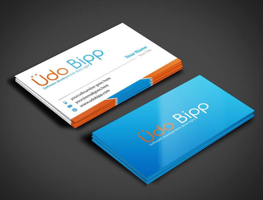 Penyertaan Peraduan #43 untuk Design some Business Cards for Udo Bipp
