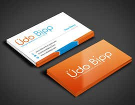 #45 for Design some Business Cards for Udo Bipp by angelacini