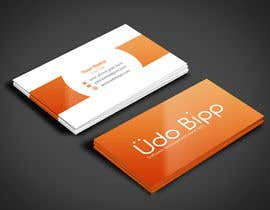 #51 for Design some Business Cards for Udo Bipp by angelacini