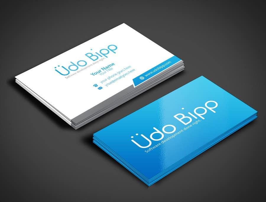 Penyertaan Peraduan #71 untuk Design some Business Cards for Udo Bipp