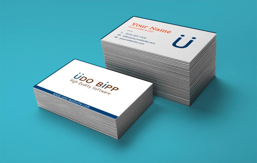 Penyertaan Peraduan #19 untuk Design some Business Cards for Udo Bipp