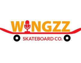 #41 for Design a Logo for WingZz Skateboard Co. by designxperia