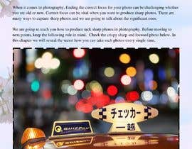 #43 for Need help: writing a 5 pages photography book Chapter by MuhammadSheri