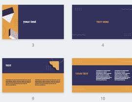 Nro 14 kilpailuun Build a minimal Google Slide Template käyttäjältä skratul