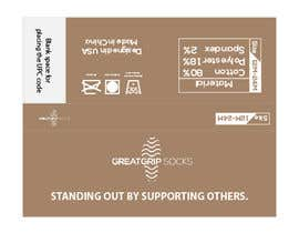 Nro 25 kilpailuun PACKAGING DESIGN for children's socks käyttäjältä Eftak