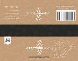 Nro 41 kilpailuun PACKAGING DESIGN for children's socks käyttäjältä DesignerMaster12