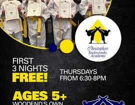 #301 untuk Flyer Martial Arts Contest oleh meenumdu2604