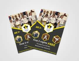 #353 untuk Flyer Martial Arts Contest oleh bhuiyanatik9