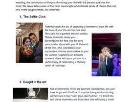 msavinash1139 tarafından Write blog article - Wedding Photography için no 5