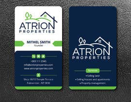 #371 for business card for real estate company by ahsanhabib5477