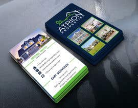 #628 for business card for real estate company by designerg88