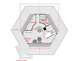 #29 for Vacation Cabin Layout (Floor and Structure) by sandraquiros