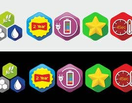 #29 for 8 ICONS / BADGES by maminegraphiste