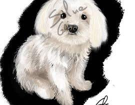 #17 for Dog portrait illustration by silviagai