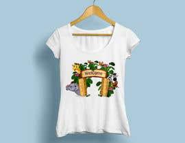 #16 for T-shirt Design Kids Zoo Germany af shahanazany48