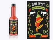 Looking for a Hot Sauce Label Designer için Graphic Design32 No.lu Yarışma Girdisi