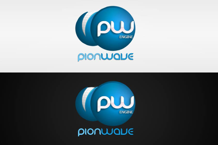 """#54 for Logo Design for """"PionWave Engine"""" by LostKID"""