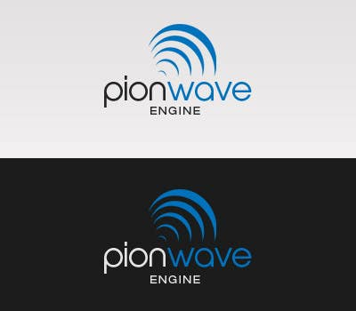 """#52 for Logo Design for """"PionWave Engine"""" by ponixx"""